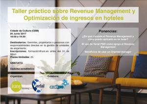 taller revenue management y optimización ingresos